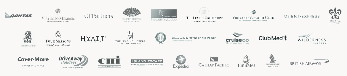 Wentworth Travel Partnership Logos